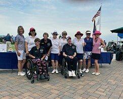 Saratoga Niners Support the 10th Annual PVA Golf Tournament