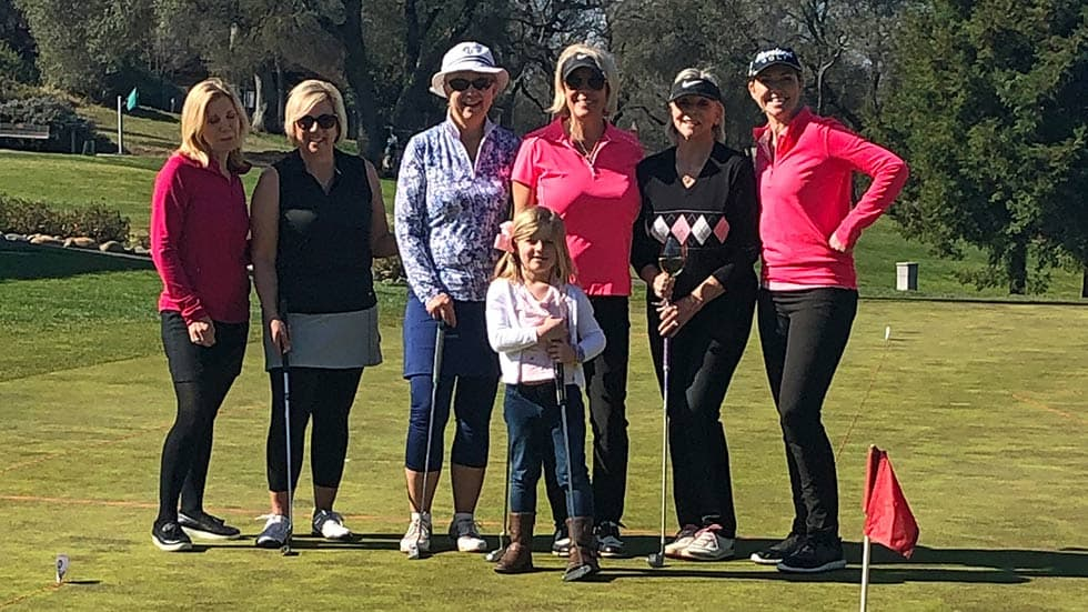 Cameron Park Country Club's Gold Niners Valentine's Day 2020 Tournament